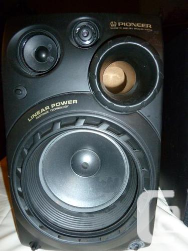 Pioneer S-P860V Bookshelf Speakers 150w 8 ohm