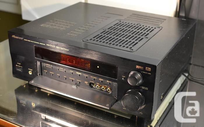 Pioneer vsx d710s 100 watts av surround receiver mint with remote pioneer vsx d710s 100 watts av surround receiver fandeluxe Choice Image