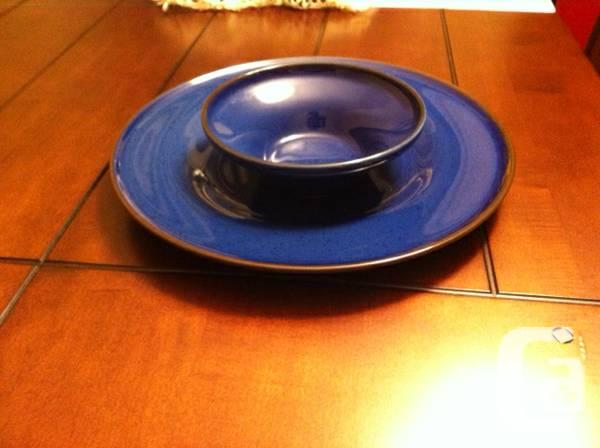 PLATES AND BOWLS (IKEA TRIVSAM PLATES AND BOWLS) - $40