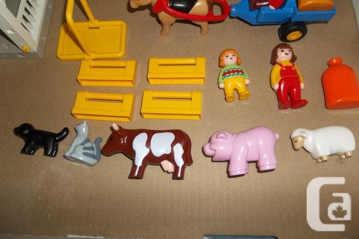 Playmobil 1.2.3 Large Farm