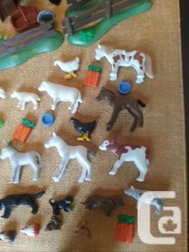 Playmobil Farm, Petting Zoo, Pets ( Lot 4 )