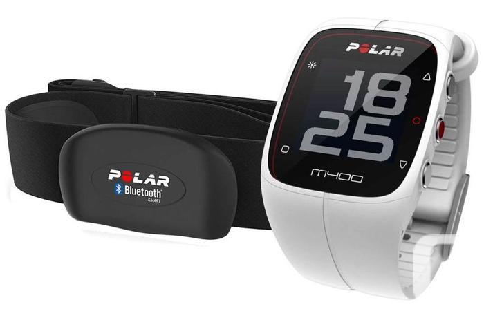 Polar M400 Fitness Watch - WHITE