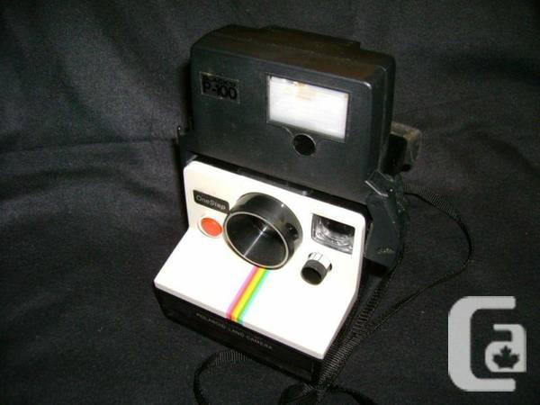 Polaroid One Step Land Rainbow Stripe SX 70 Instant