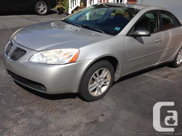 Pontiac G6 2006 105 000 km