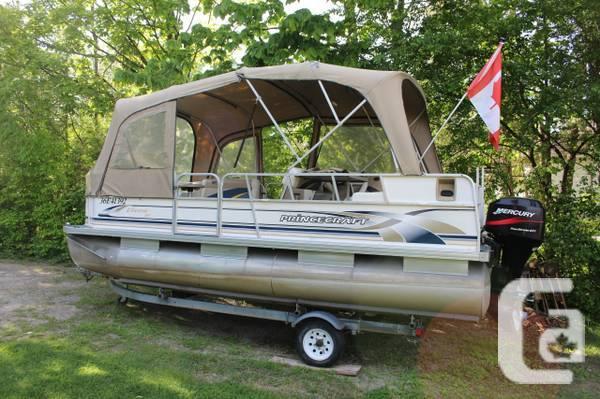 Pontoon Boat 18' - $12500