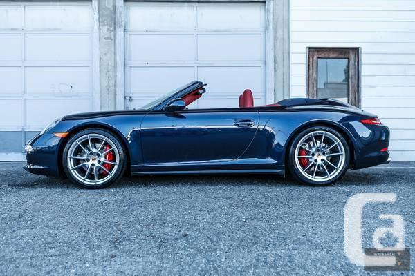 Porsche 911 Cabriolet 7- PDK - $143900