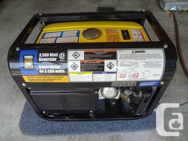 power fist 6500w generator princess auto