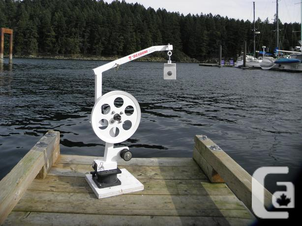 Pulleys Nanaimo : Prawn crab trap winch puller quot big kahuna for sale in