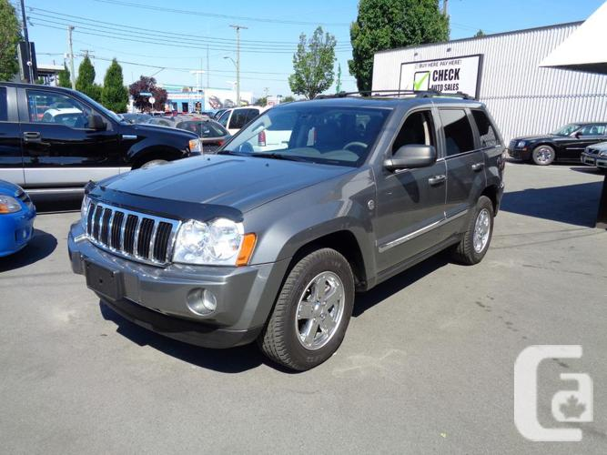 price slashed 07 jeep grand cherokee diesel fully loaded cold ac for sale in victoria british. Black Bedroom Furniture Sets. Home Design Ideas