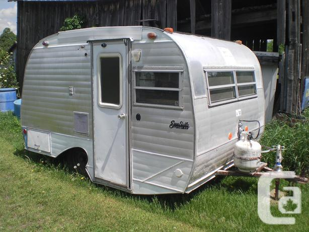 Rv Trailers For Sale Ontario >> Price Reduced Vintage Scotty Camper Trailer In North Gower Ontario For Sale