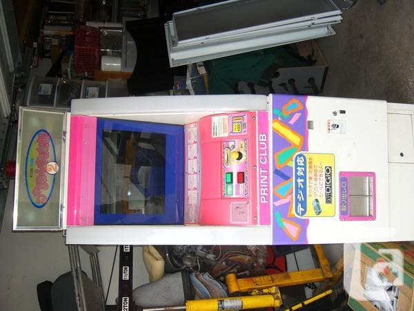Print Club Arcade Game - $500