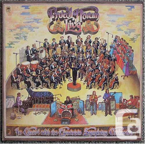 Procol Harum LP In Concert With The Edmonton Symphony
