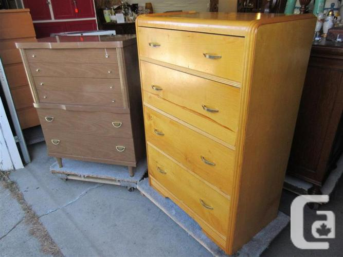 PROPERTY TWO FOUR DRAWER DRESSER
