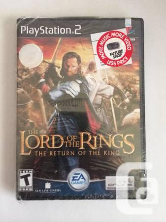 PS2 - LORD OF THE RINGS: RETURN OF THE KING - $75