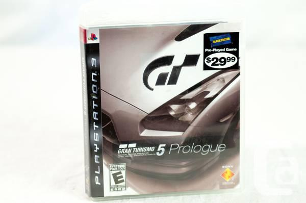 PS3 Gran Turismo 5 Prologue - $10