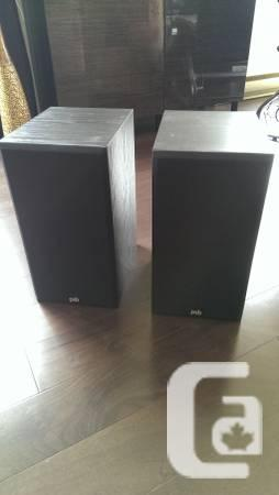PSB 400 Bass Reflex 2 Way Bookshelf Speakers