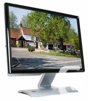 Quad Core HP Pavilion Desktop PC and 24