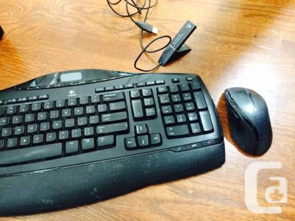 QUALITY Logitech MX3200 Wireless Keyboard and Mouse -