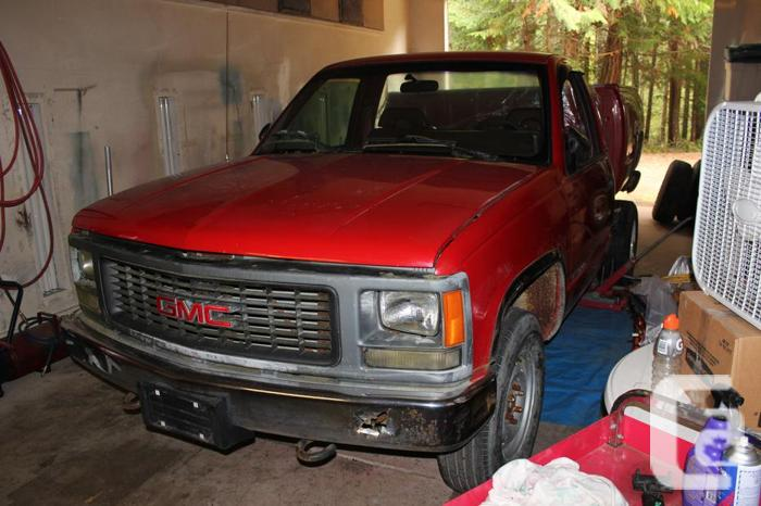 Rad from 1993 full size GMC that had a 4.3lt V6