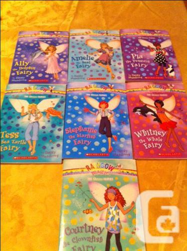 Rainbow Magic Fairy books by Daisy Meadows, Scholastic