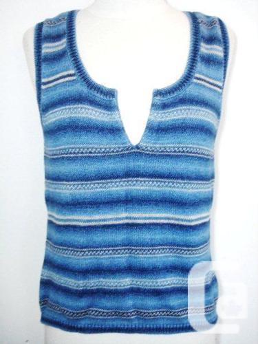 Ralph Lauren - Blue Knit Tank Top / Sleeveless / Cami