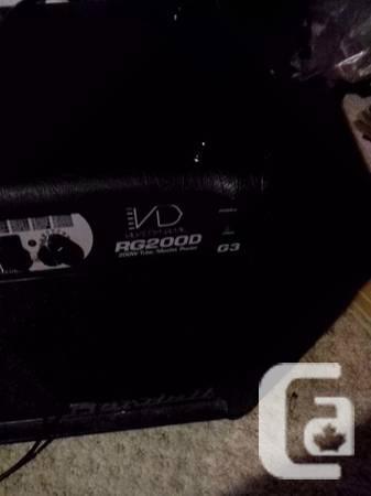 Randall RG2000 200W tube/solidstate - $500