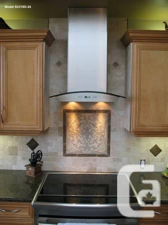 RANGE HOODS CLEARANCE SALE, ISLAND, UNDER CABINET AND