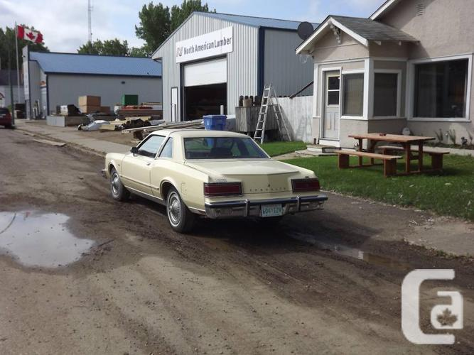 rare 78 Lebaron Medallion Coupe in very good condition
