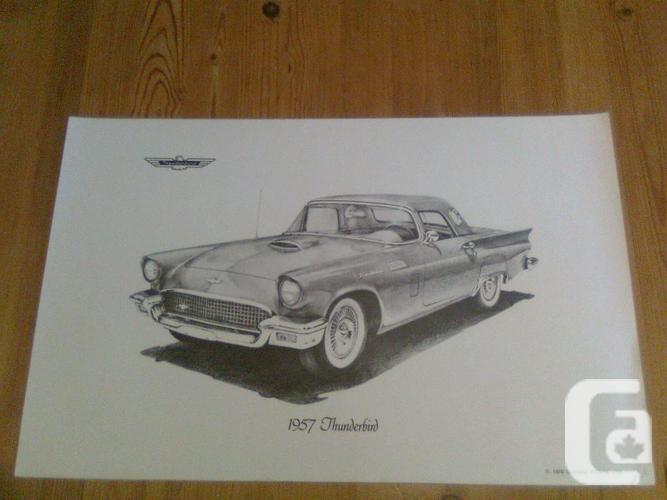 Rare Classic Automobile Prints