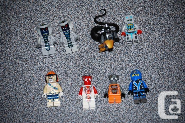 Rare Lego Minifigures: Ninjago, Series, Chima