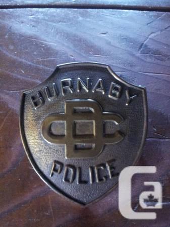 Rare. Police Logo - $575