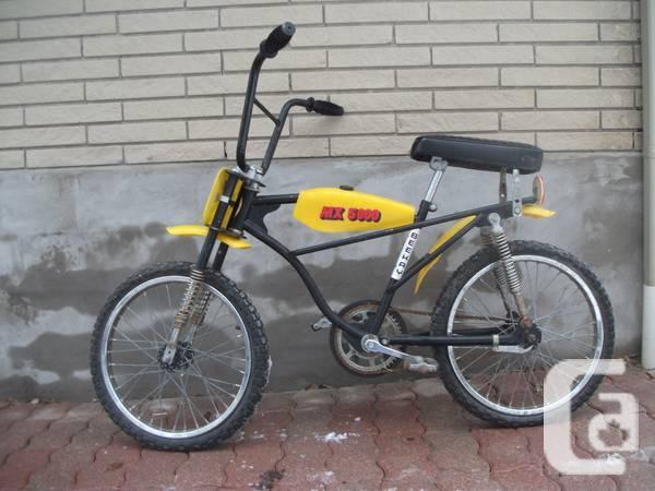 RARE vintage 70's- 80's Beekay BMX bike - $175