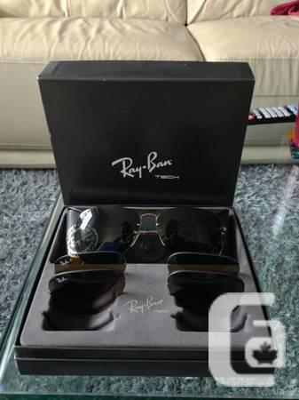 99a4d063879 RayBan Aviator set w  3 lens set RB3460 - for sale in Vancouver ...