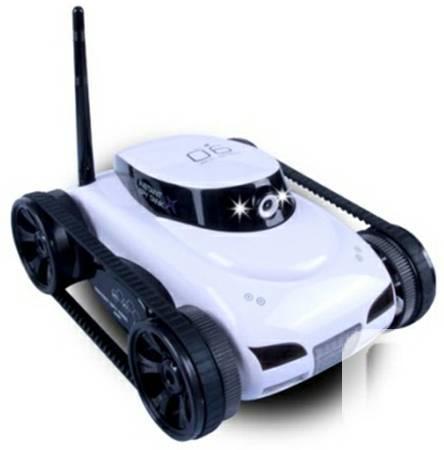 RC Tank w/ Camera App - $150