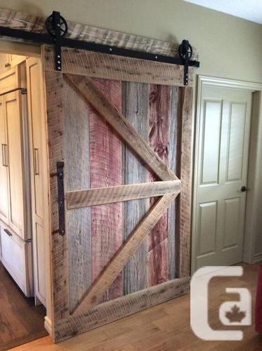 Rebarn custom barn doors for sale in victoria british for Custom barn doors for sale