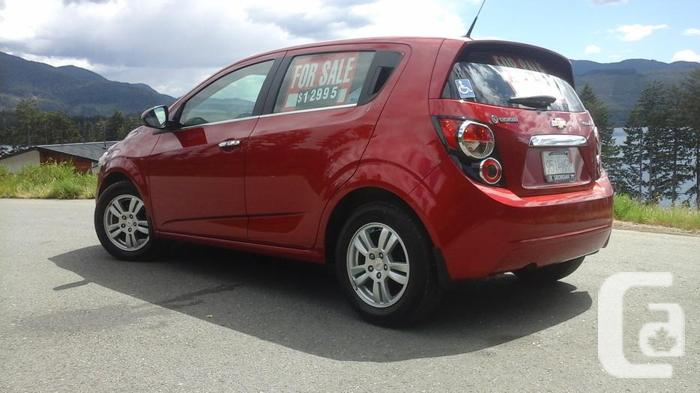 REDUCED $10,995 · 2012 Chevrolet Sonic Low kms 26,000