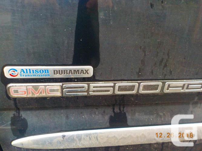REDUCED 2007 GMC Sierra SLT 6.6 Duramax Diesel