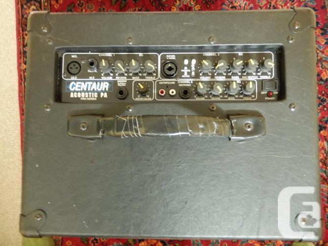 REDUCED! Centaur Acoustic PA Pro Series A1225LV