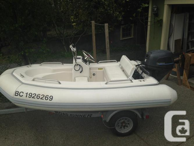 Rendova 10ft Hard Bottom Inflatable With Centre Console For Sale In