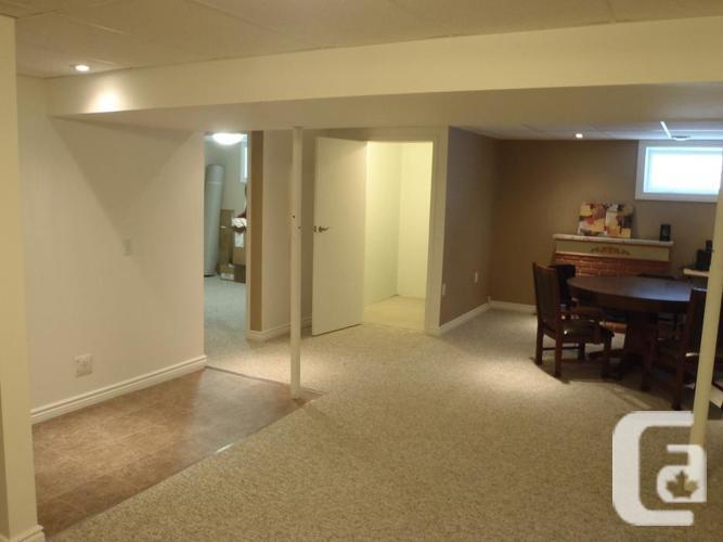 renovated one bedroom basement suite for rent utilities