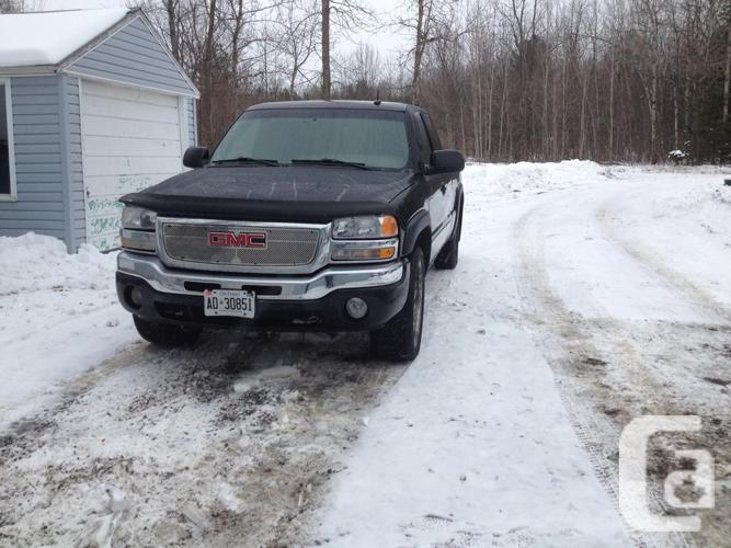 Require eliminated! 2003 Sierra V8, fully-loaded