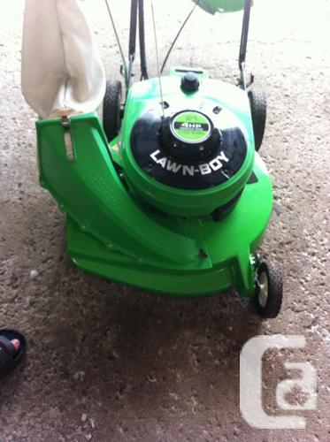 Restored Lawn Boy 2 Cycle Electric Start Self Propel 21