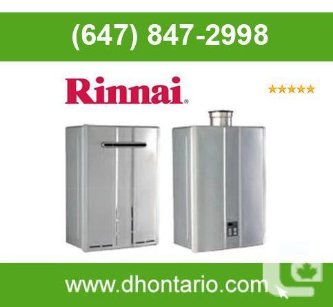 Rinnai Tankless Rent To Own, Ontario