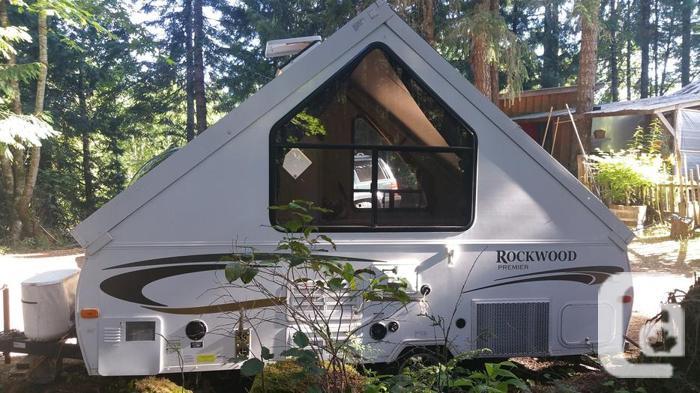 Rockwood premier A-frame camp trailer
