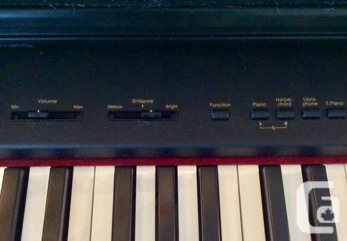 Roland HP-238, Piano