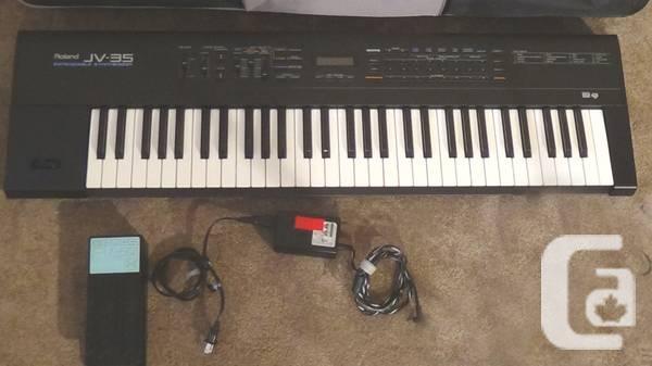 Roland JV-35 keyboard - $400