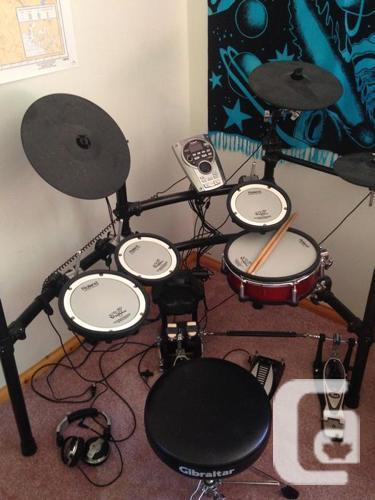 Roland V-Drum TD15K (plus Upgrades & Accessories) 1600$
