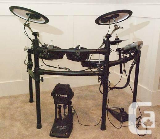 Roland V-Drums Drum Kit TD-15K - $1600
