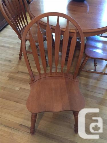 Roxton Maple Table &  6 Chairs