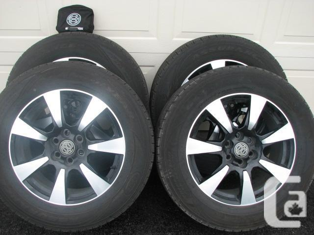 "RSSW Cadillac SRX 18"" wheels and Goodyear"